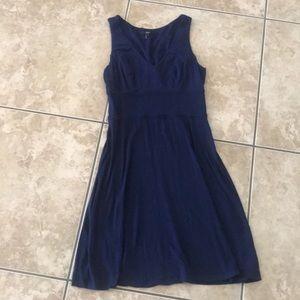 Tart to knee navy dress
